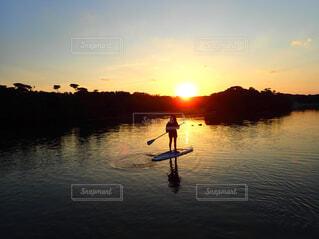 石垣島の朝の写真・画像素材[4520458]