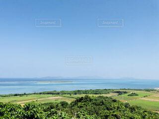緑のある島の写真・画像素材[4523795]
