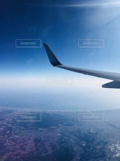 空の上の写真・画像素材[4525374]