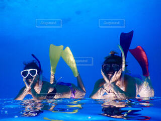 海遊びの写真・画像素材[4525438]
