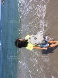 海を見ている人の写真・画像素材[4532983]
