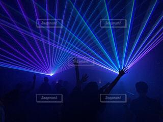 パーティーレーザーの写真・画像素材[4498075]