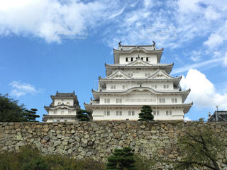 姫路城の写真・画像素材[197776]