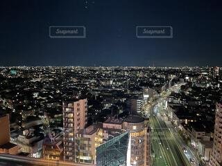 東京の夜景と道路の写真・画像素材[4512983]