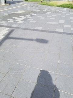 影の主張の写真・画像素材[4533614]