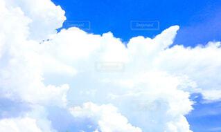 白い雲の写真・画像素材[4515298]