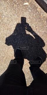 どちらが影かわからない。の写真・画像素材[4683919]