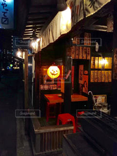 ハロウィンの居酒屋の写真・画像素材[841578]