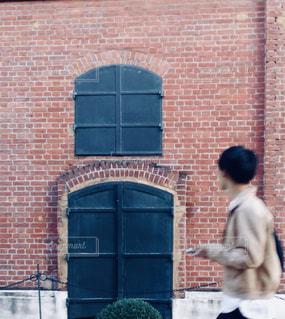赤煉瓦の写真・画像素材[847157]