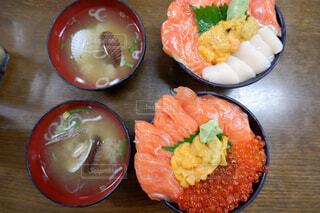 北海道で海鮮丼!の写真・画像素材[4532139]