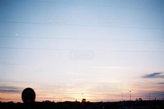 夕日の写真・画像素材[4523715]