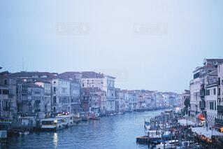 ベネチアの朝の写真・画像素材[4523716]