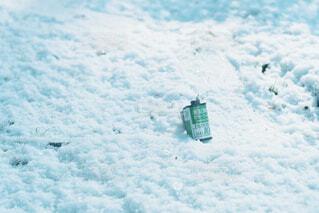 雪とフィルムの写真・画像素材[4523723]