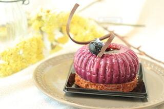 皿の上のケーキ デザート 食べ物の写真・画像素材[4524611]