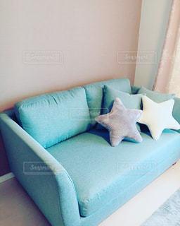 おうちのソファーの写真・画像素材[374748]