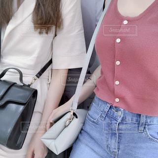 韓国ファッションの写真・画像素材[1252091]