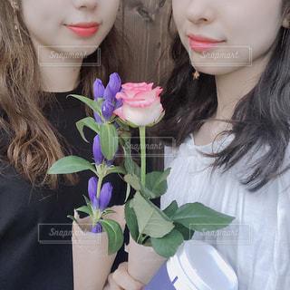 2人の女の子の写真・画像素材[1495921]