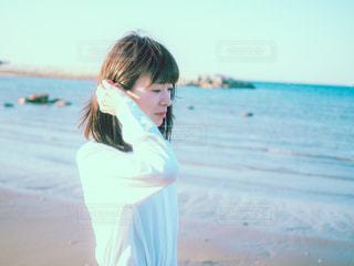 海と私の写真・画像素材[3132188]