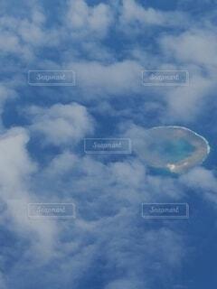 不思議な島?発見!の写真・画像素材[4771292]