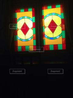 ステンドガラスの写真・画像素材[199044]