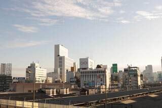 空とビルと上野の写真・画像素材[4534522]