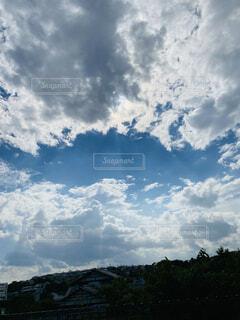 雲が広がっていてすごかったの写真・画像素材[4571272]