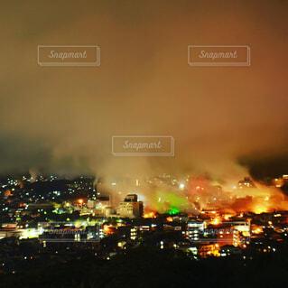夜の都市の眺めの写真・画像素材[4563034]