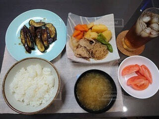 ある日の晩御飯ですの写真・画像素材[4557654]