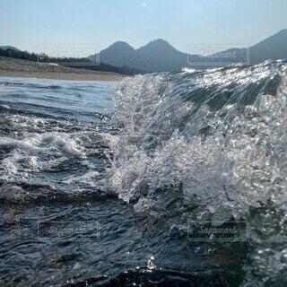 夏の海の写真・画像素材[4543257]