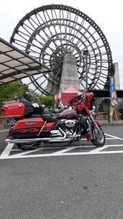 久しぶりのツーリング 道の駅おばあちゃん市の写真・画像素材[4562629]