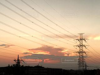 夕日の写真・画像素材[2370330]