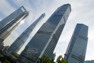 中国 上海 浦東の超高層ビル群の写真・画像素材[4559860]