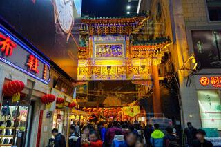 中国 北京 王府井の屋台街の写真・画像素材[4690010]