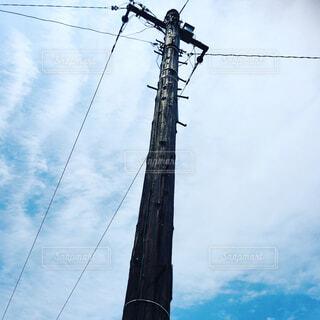 50年以上頑張る電信柱の写真・画像素材[4553747]