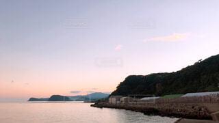 海と山との写真・画像素材[4549185]