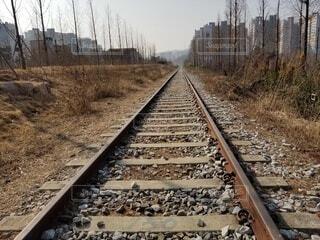 線路の写真・画像素材[4556975]