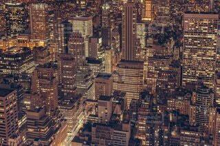 都市の高い建物の写真・画像素材[4569789]
