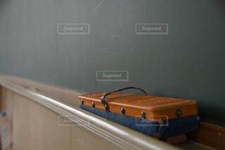 放課後の黒板消しの写真・画像素材[4559614]
