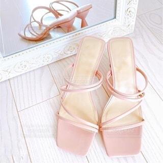 靴のクローズアップの写真・画像素材[4783498]