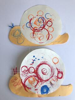 3歳児の作った工作作品の写真・画像素材[4565035]