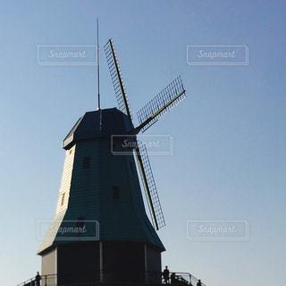 風車の写真・画像素材[1100600]
