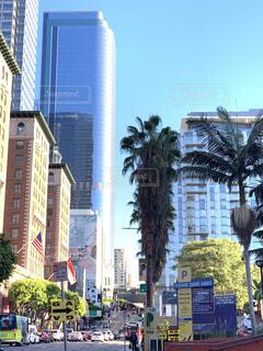 ロサンゼルスの町並みの写真・画像素材[4573695]