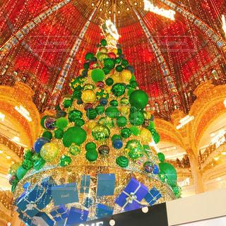 パリ クリスマスイルミネーションの写真・画像素材[1633902]