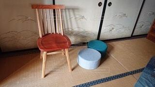 手作りの椅子の写真・画像素材[4802802]