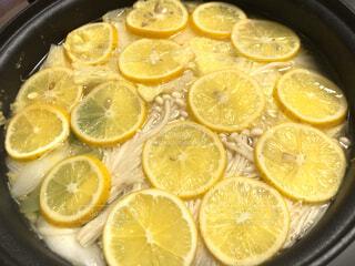 レモン鍋の写真・画像素材[4617730]