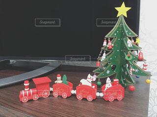クリスマスの置物の写真・画像素材[4620395]