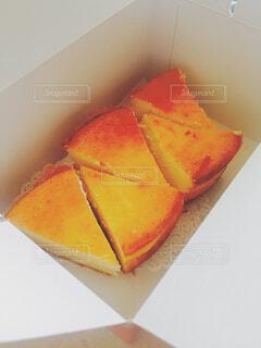 手作りのチーズケーキの写真・画像素材[4620449]