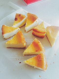 手作りのチーズケーキの写真・画像素材[4620450]