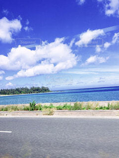 空と海の写真・画像素材[4625886]