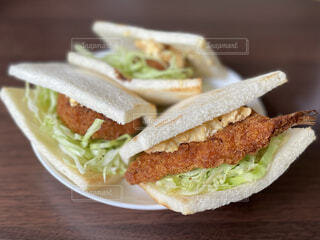 サンドイッチの写真・画像素材[4628808]